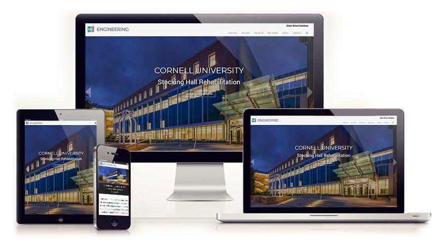 Modern, Mobile Friendly Website