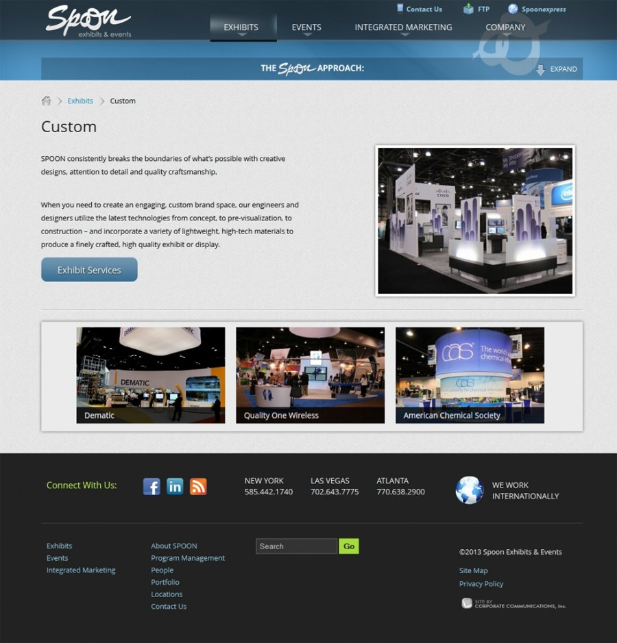 Spoon Exhibits and Events Services