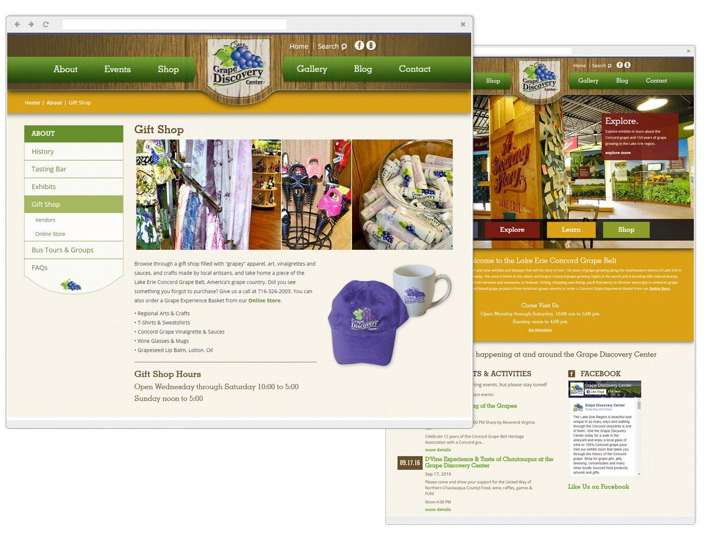 Grape Discovery Center Gift Shop