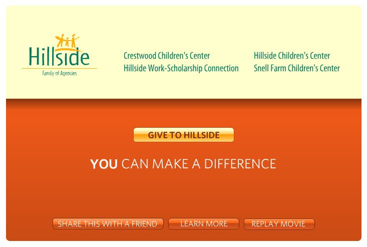 Hillside Web-mercial Design