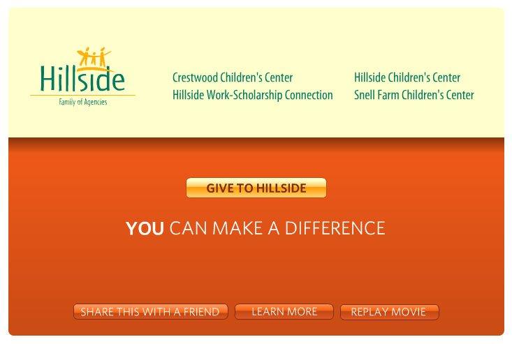 Hillside Web-mercial Design