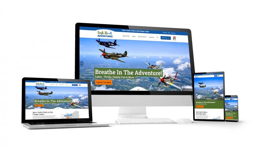 Fresh Air Adventures Responsive Website