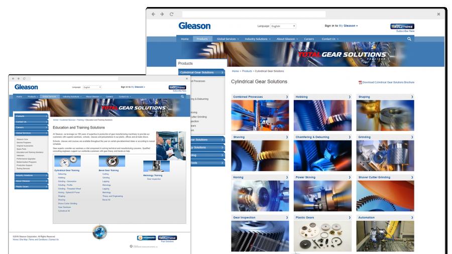 Gleason Responsive Design