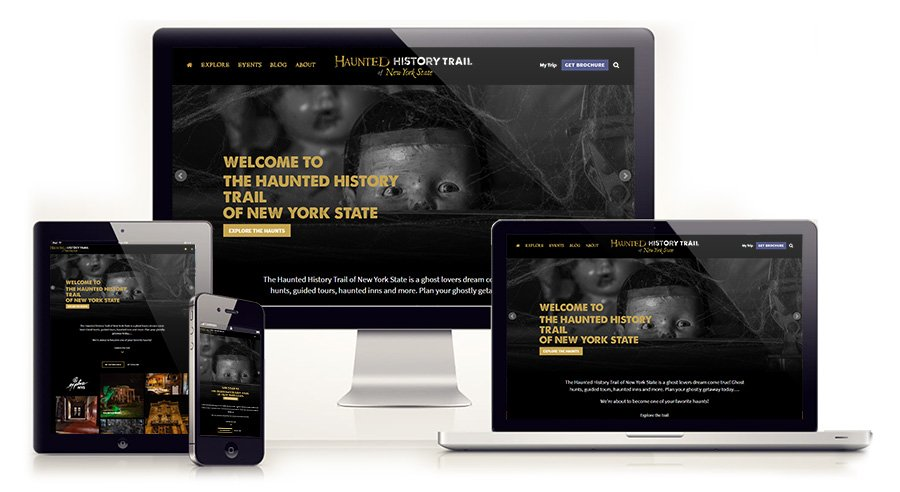 Haunted History Trail of New York State Interactive Website