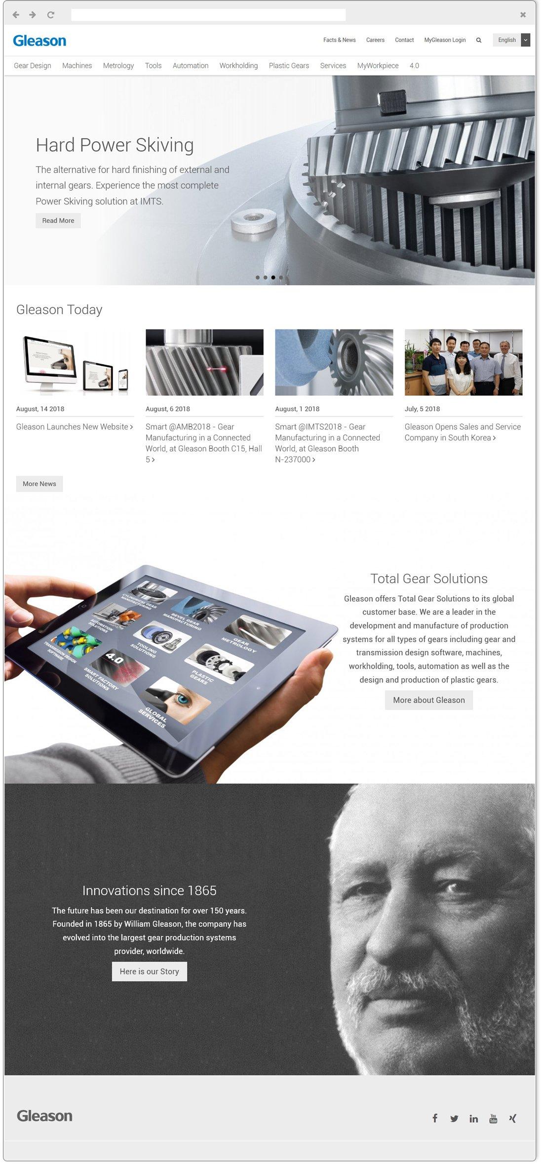 Gleason Home Page