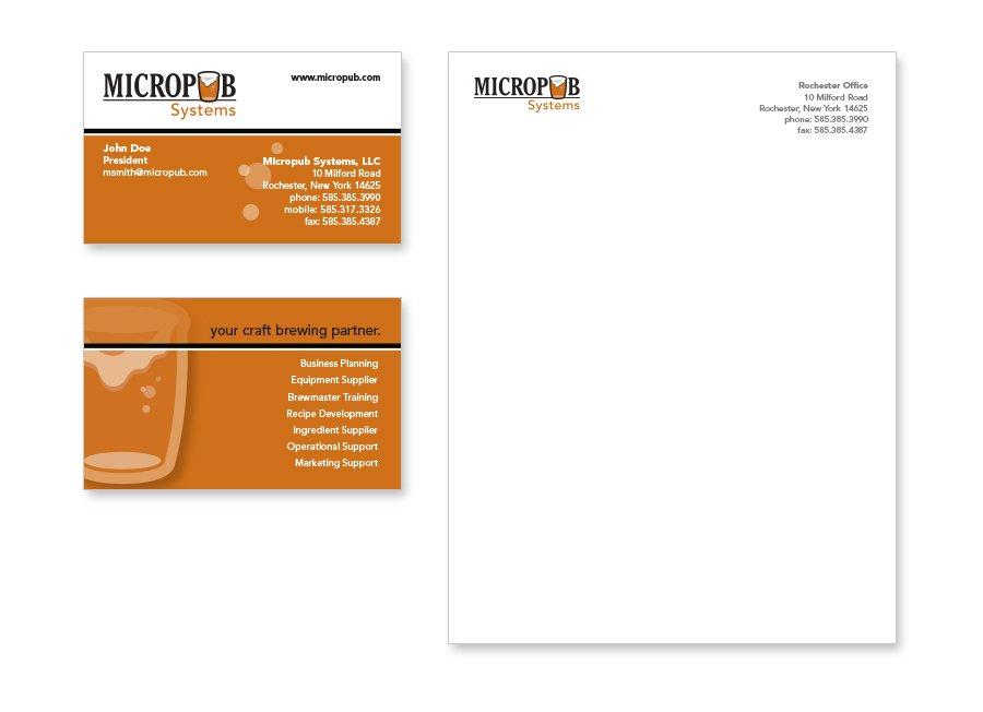 Micropub Systems Stationary Branding