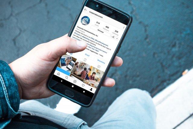 Website on Smart Phone