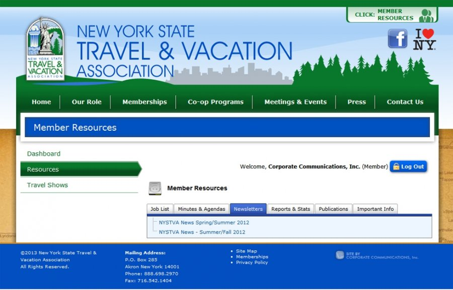 Private Member Information Exchange Portal