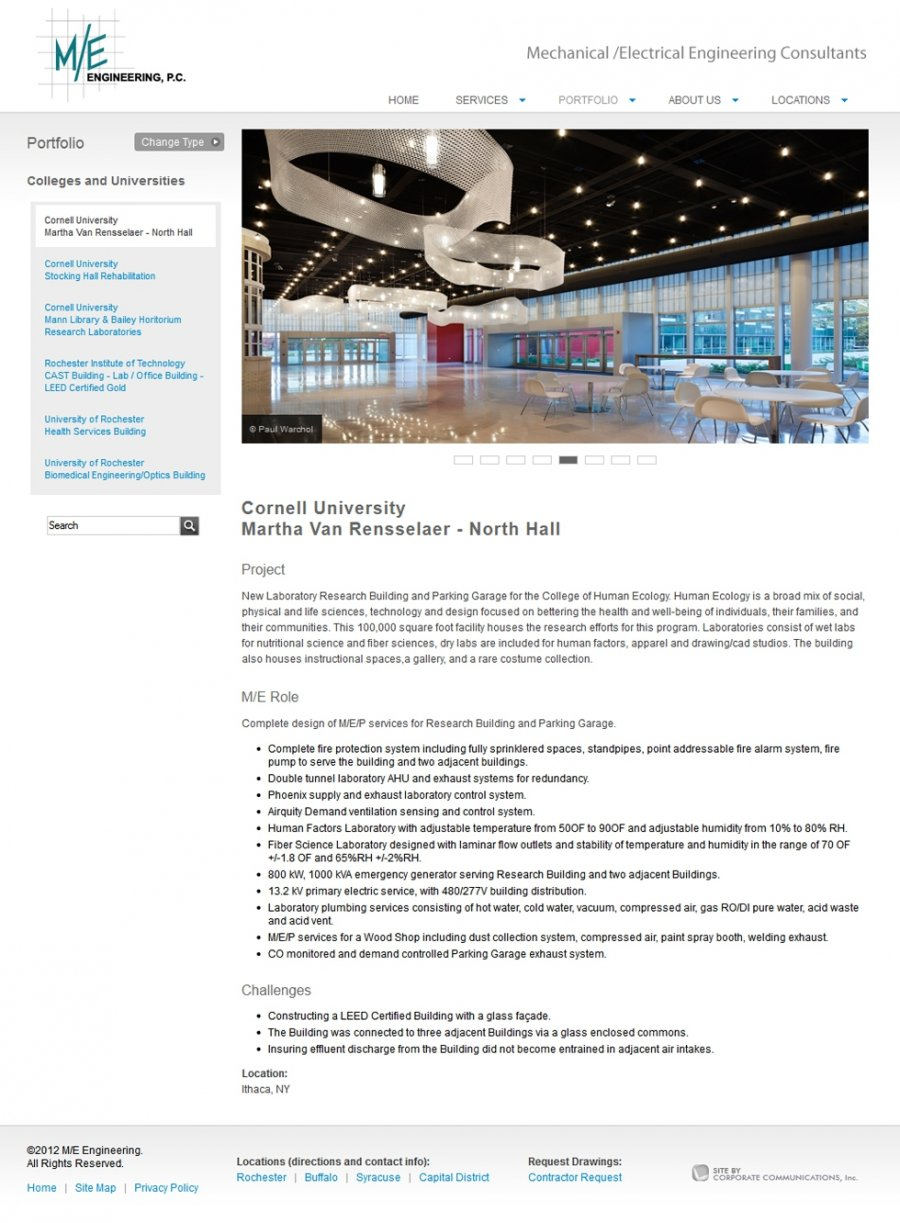 Engineering Project Webpage