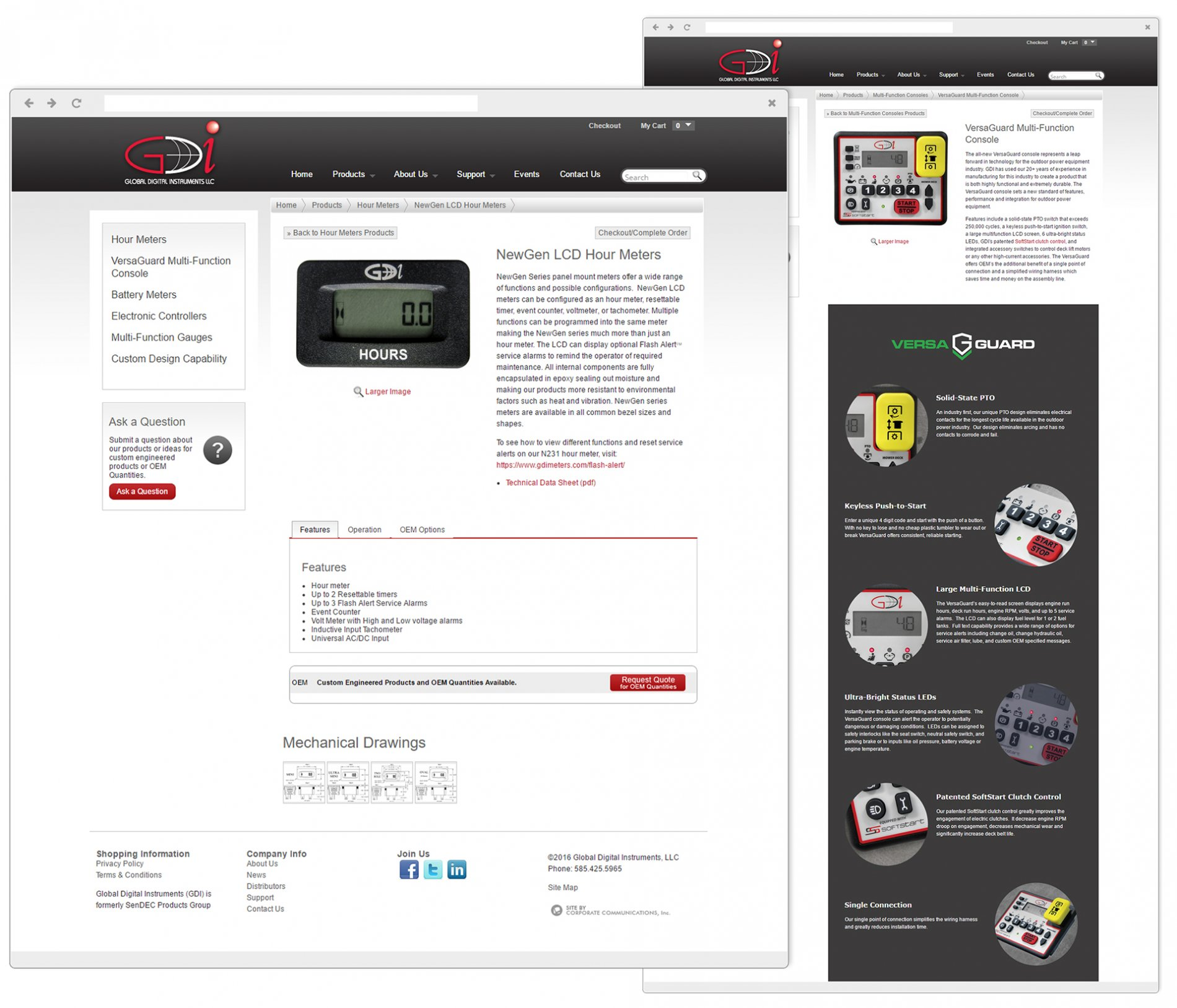Detailed eCommerce Product Page Design