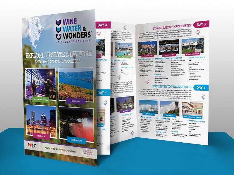 Wine Water & Wonders Brochure