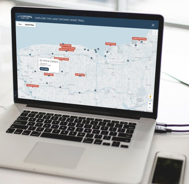 Find a destination map
