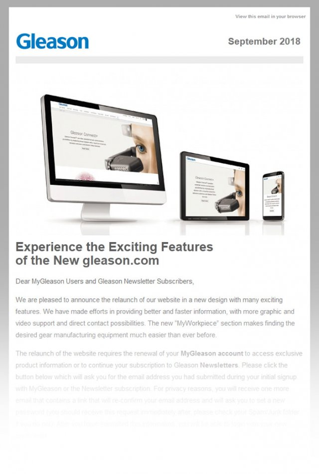 MyGleason 360 Email Marketing