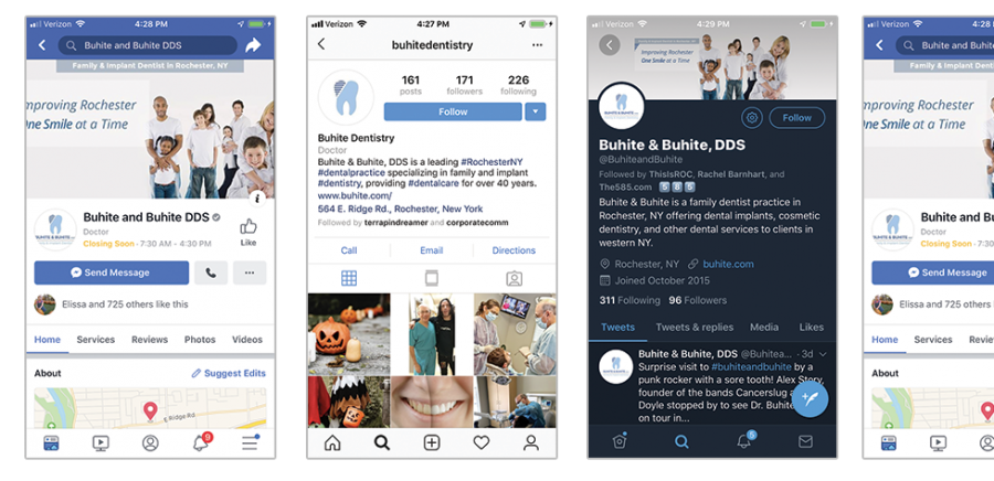 Development of a Social Media Strategy