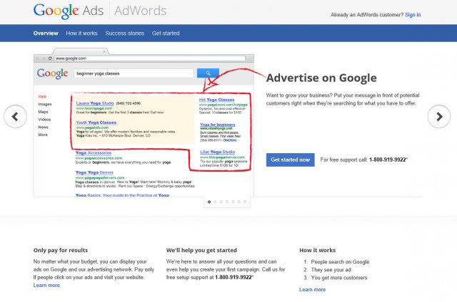 Google Adwords Advertising