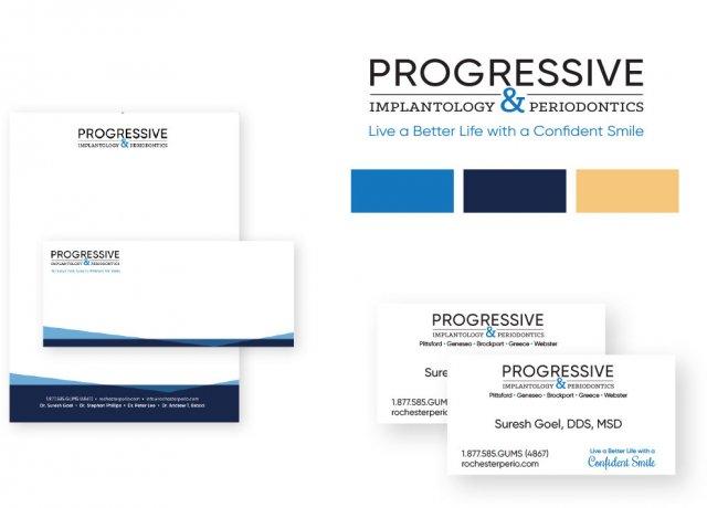Progressive Brand Identity