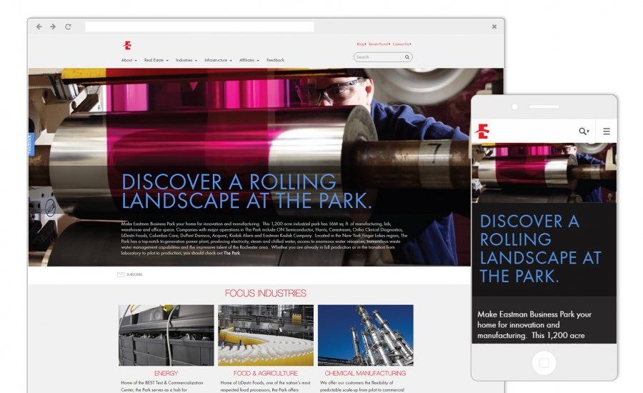 Eastman Business Park - Home Page