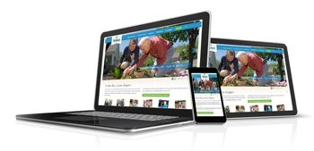 St Johns Home Rochester - Responsive Web Design