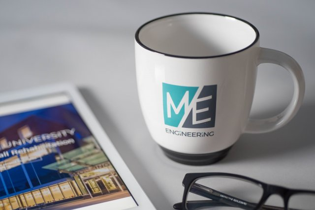 M/E Engineering Branded Cups