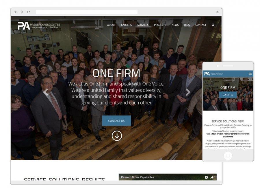 Passero Associates Screenshots