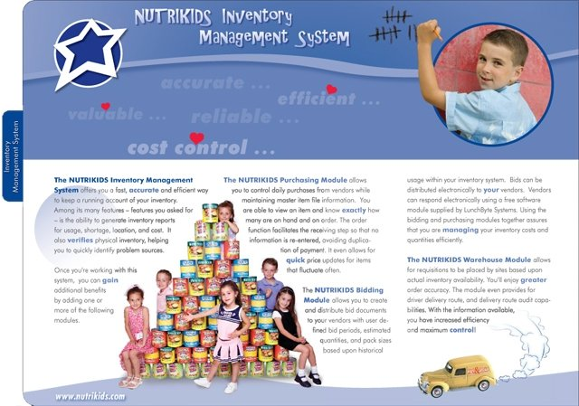 Interior Page of Product Catalog