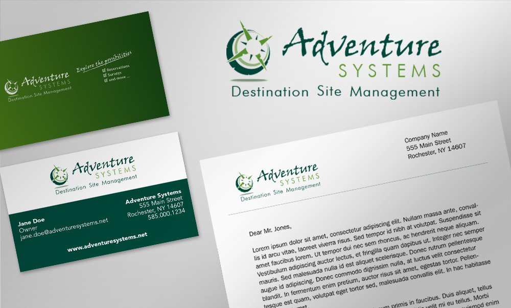 Adventure Systems Identity Design
