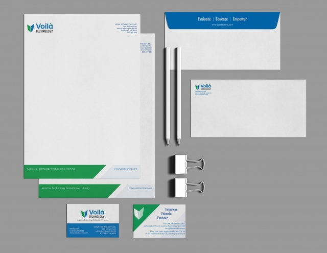 Voila Corporate Identity Package