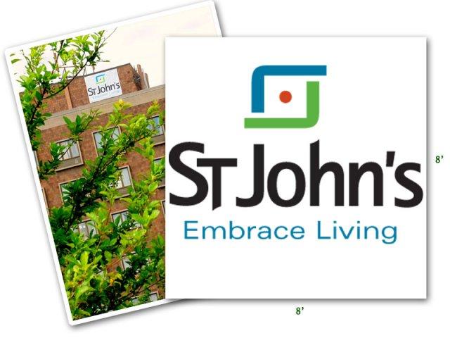 St. John's Outdoor Banner