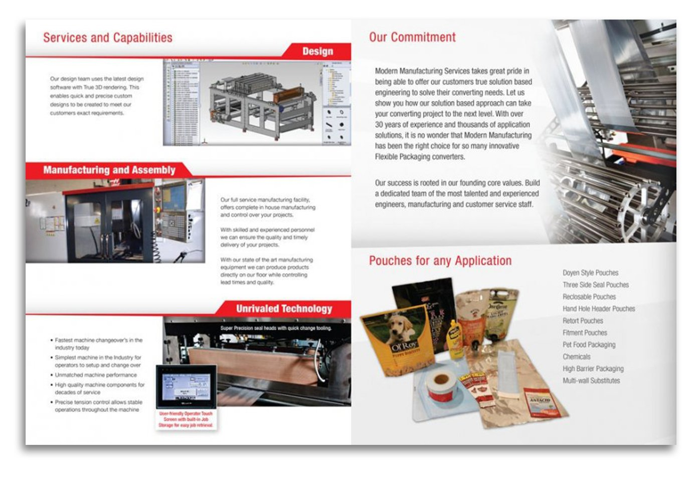 Modern Manufacturing Services Brochure